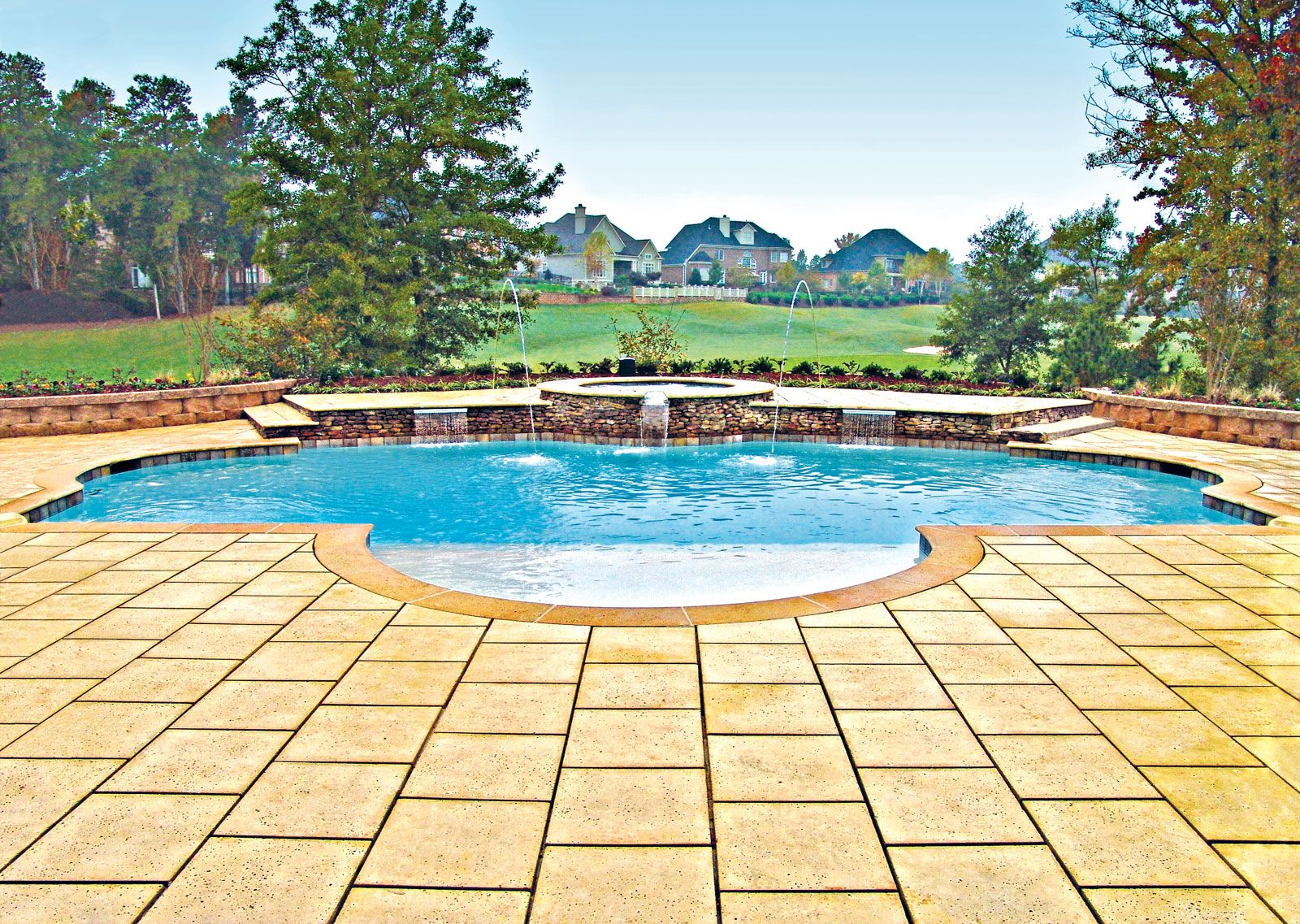 Fancy Pool Retaining Wall Ideas Image Collection - All About Wallart ...