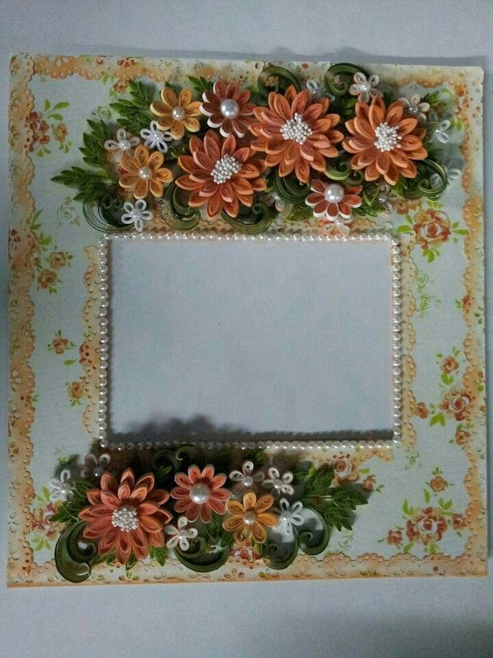 Quilling photo frame design booth picture frames designs also quilled pinterest rh in