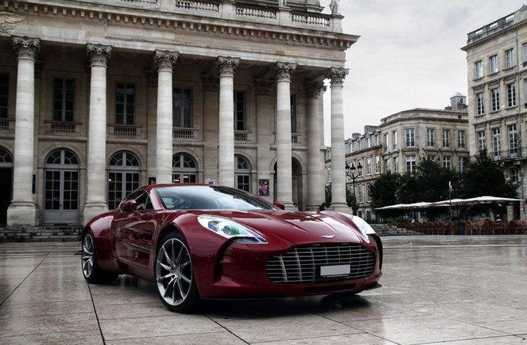 Aston martin one 77 black jack edition no 21 dress