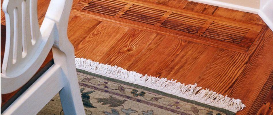 """Street of Dreams"" Colonial Heart Pine Wide Plank"