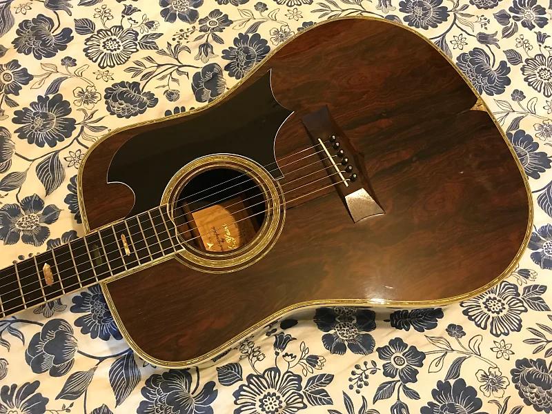 K.Yairi YW800G Vintage 1974 Acoustic Guitar Rosewood
