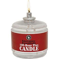 100 Hour Candle (Need 10+) $4.50