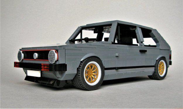 Iconic Vw Golf Gti Mk1 In Lego Creations Pinterest Mk1 Lego