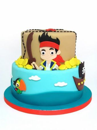 Jake & The Neverland Pirates - Sabores Da Gula Cake BOY ...