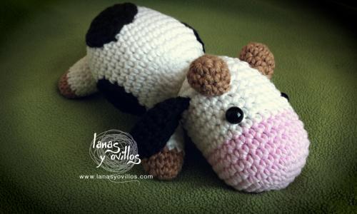 Amigurumi Vaca : Amigurumi vaca patrón gratis en español y con videotutorial