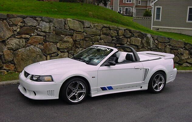 Oxford White 2004 Saleen S281 Sc Mustang Convertible Mustang Convertible Saleen Mustang Mustang Cobra