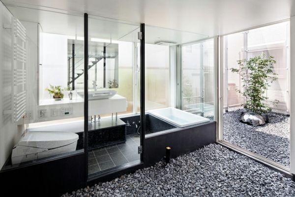 Moderne häuser innen bad  moderne wohnideen innendesign badezimmer | Architektur – moderne ...