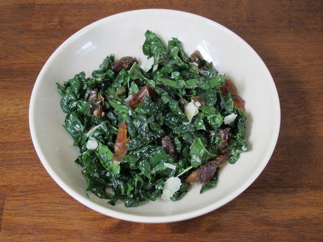 Kale, Date, & Parmesan Salad