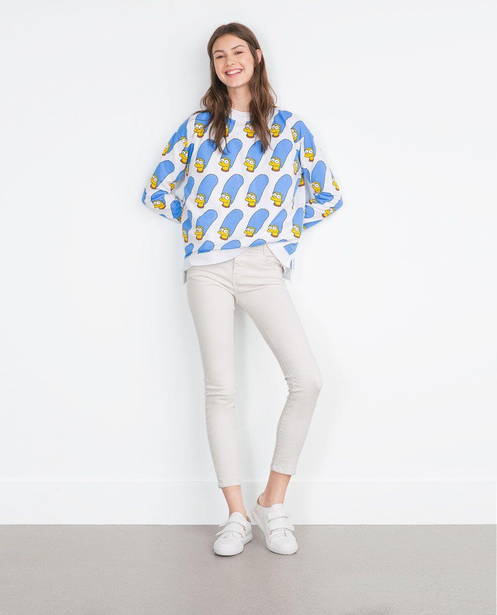 Imagen 1 de SUDADERA SIMPSONS de Zara