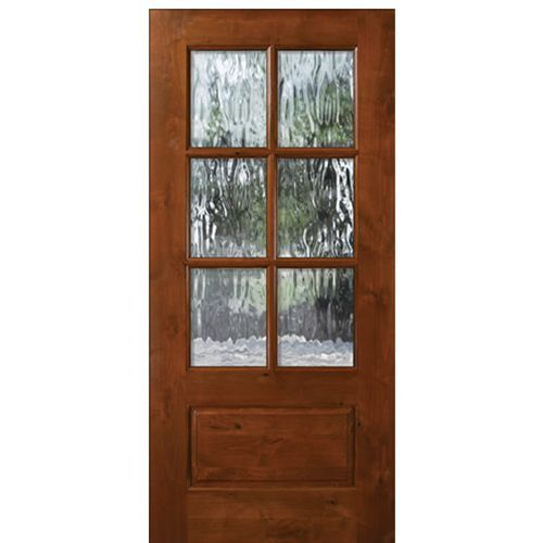 Tdl Ka 6 Lite 68 Wood Doors Interior Interior Barn Doors Entry Doors