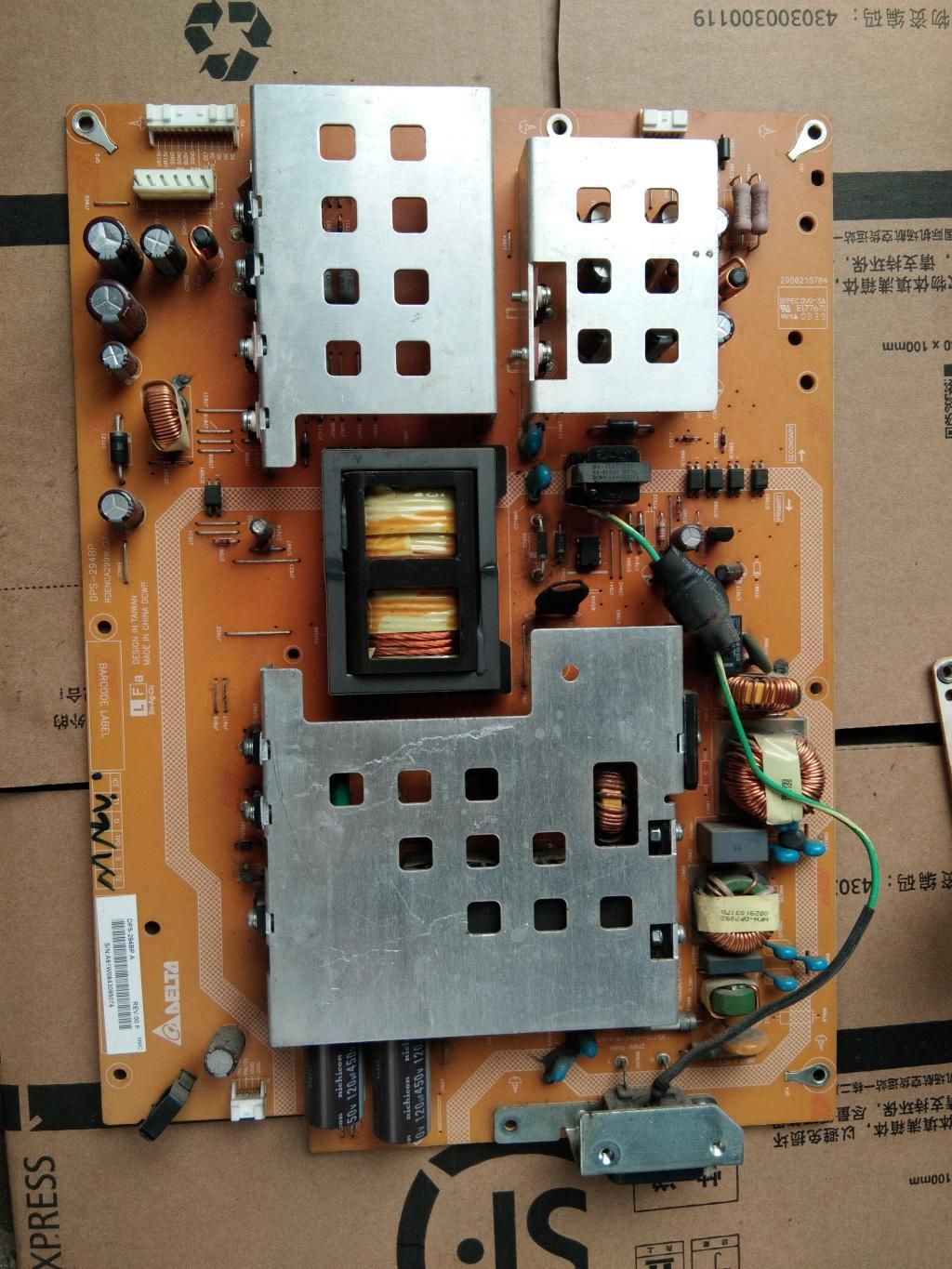 Sharp Rdenca299wjqz Dps 294bp Power Supply Board For Lcd 42 46 5 Schematic Diagram Showing The Various Parts Of A Laptop Computer 6700 Free Shipping Global Source Largest Led And Plasma Tv Pc Server