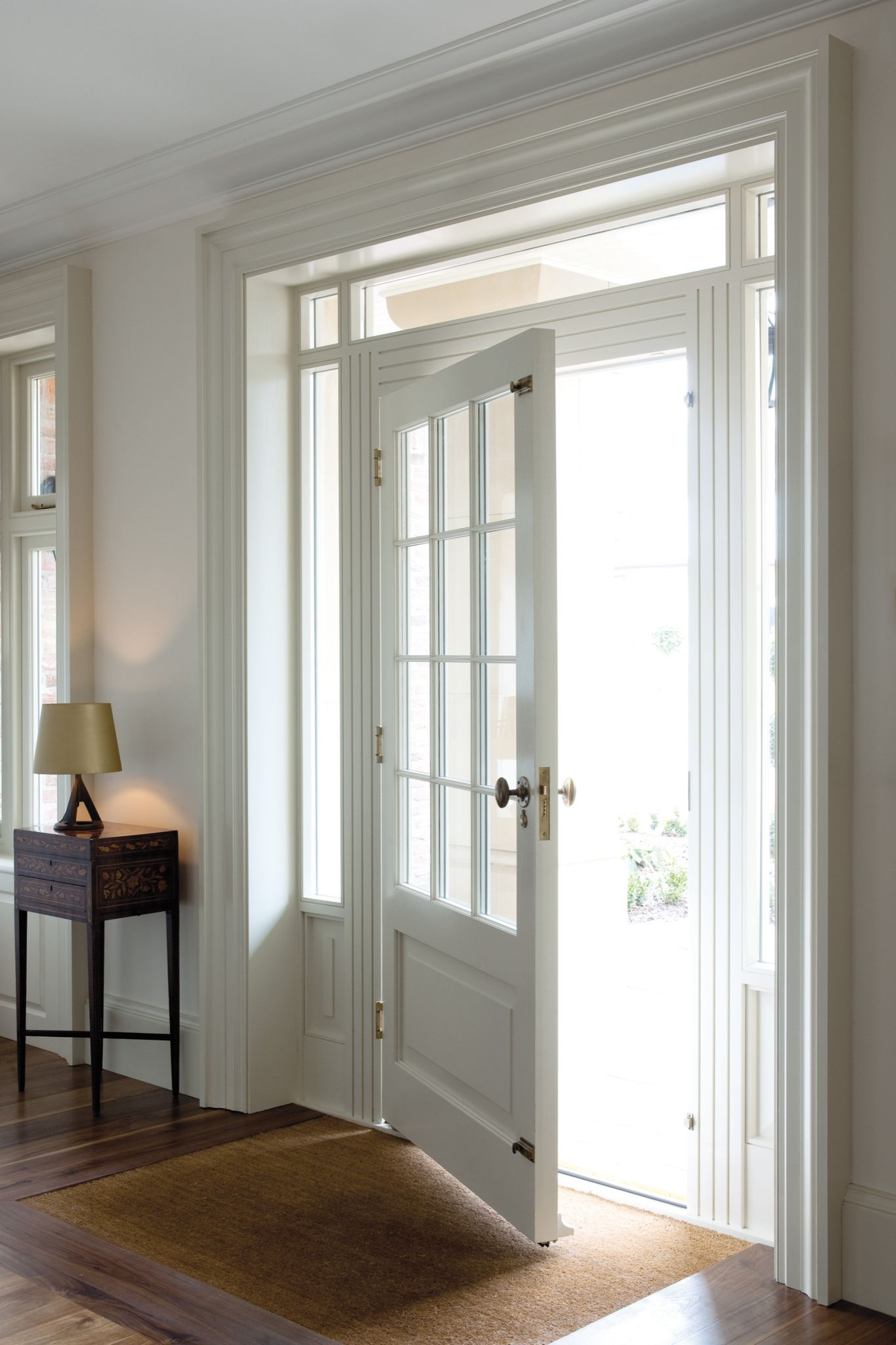 a beautiful perfect front door Hayburn & Co