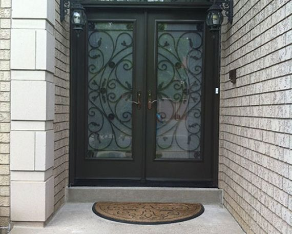 iron double entry doors image collections doors design ideas double wrought iron entry doors image collections