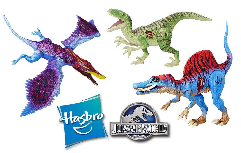 Hasbro Jurassic World Dino Hybrid Toys Now Available