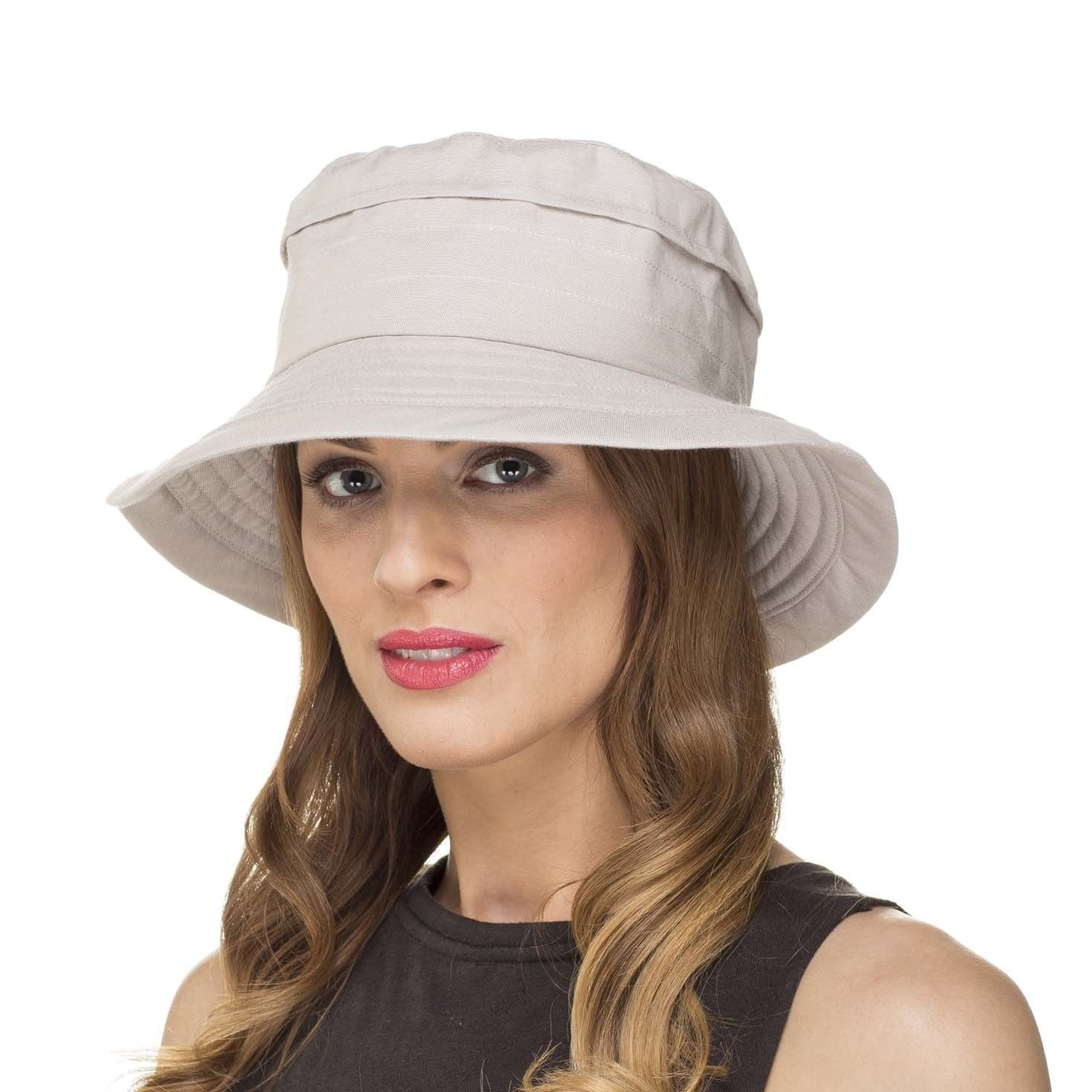 b4dc0e43698 Ladies Womens Summer Shapable Foldable Packable Sun Hat