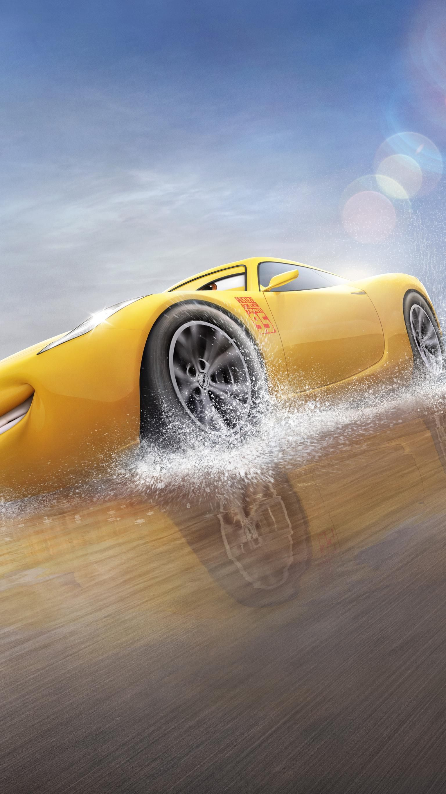 Cars 3 2017 Phone Wallpaper Moviemania Disney Cars Wallpaper Cruz Ramirez Disney Cars [ 2732 x 1536 Pixel ]