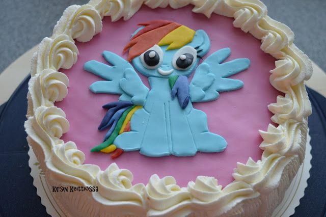 Kirsin keittiössä: Rainbow dash-kakku (gluteeniton)