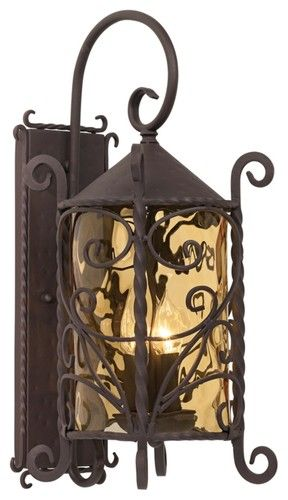 "Forsyth Collection 27 1/4"" High Outdoor Wall Light - traditional - outdoor lighting - Lighting Luxury Style"