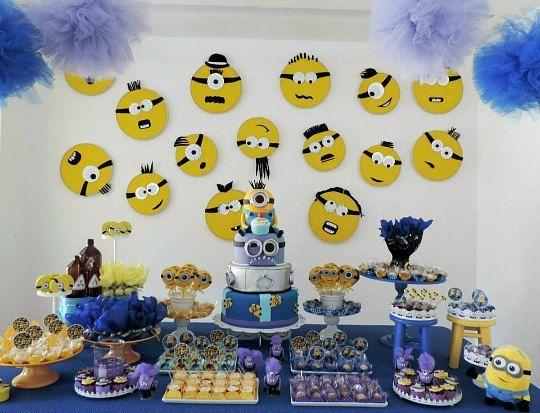 cumpleaos minions inspiracin decoracin fiestas