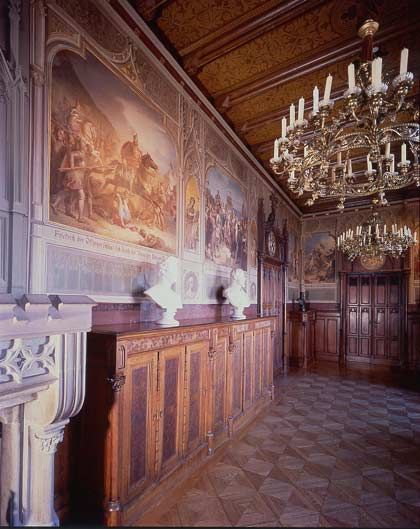 3 Library Burg Bibliothek Hechingen