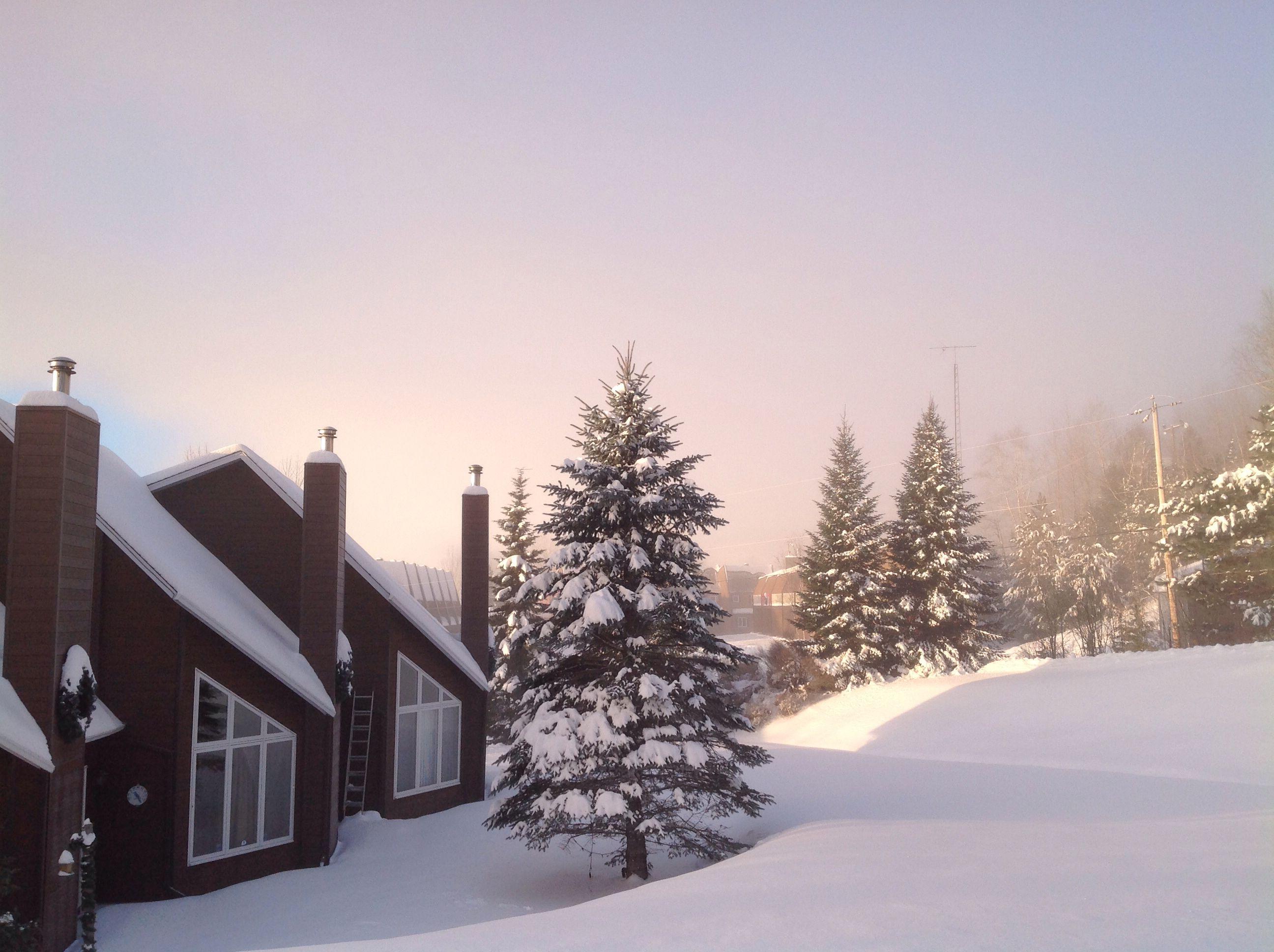 Val StCôme, Québec Québec, Tempete de neige, Hivernal