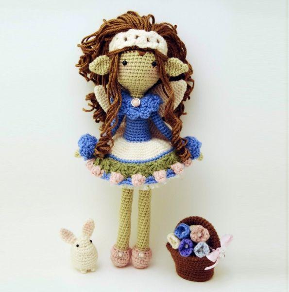 Tatiana, The Tenderhearted Amigurumi Pattern | Amigurumi | Pinterest ...