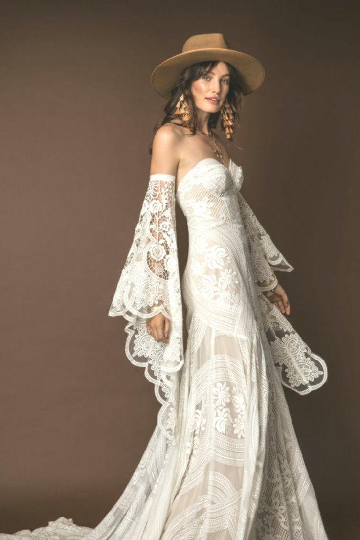 Vestito Da Sposa Western.Adara Gown Abito Da Sposa Country Abiti Da Sposa Hippie Abiti