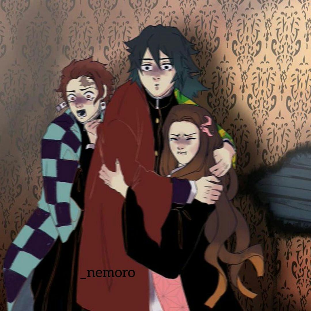 كوميكات عن انمي قاتل الشياطين Anime Anime Guys Character
