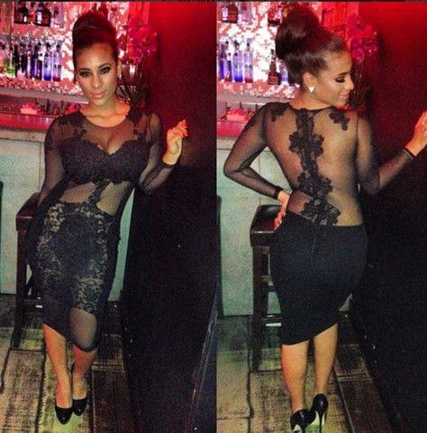 SEXY HOT SHOW BODY LACE DRESS – beautyvoguebeauty