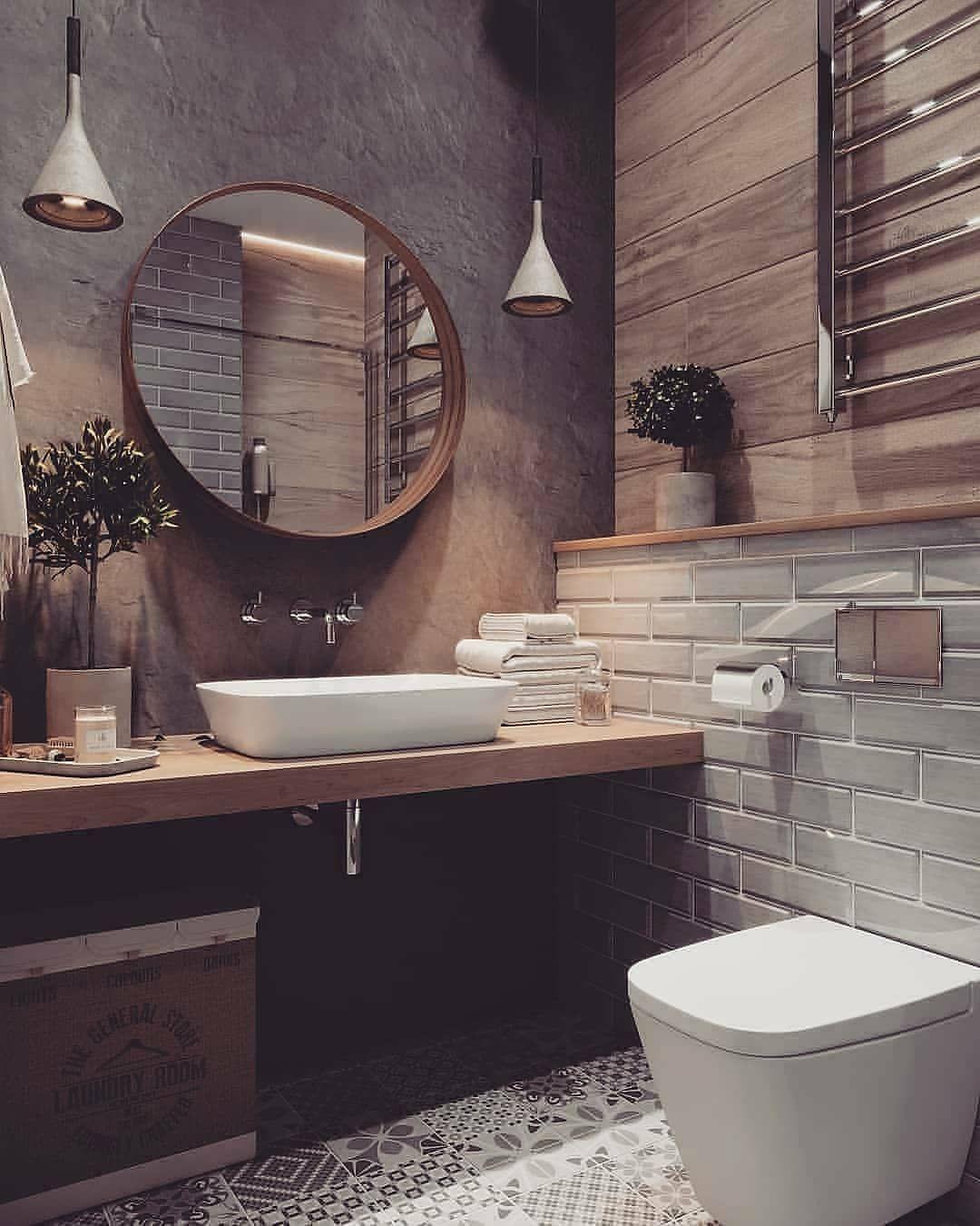 Dizajn Interera Sto Instagram Dizajn V Stile Loft Design Loft Design Bathroom Des Best Bathroom Designs Bathroom Interior Bathroom Inspiration
