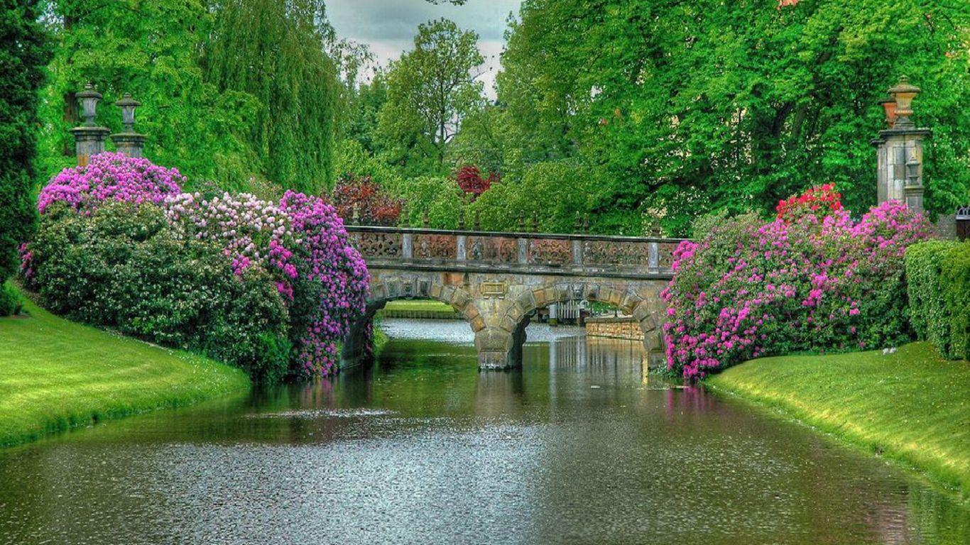 Horses Places Garden Bridge HD Wallpaper | LOVE | Pinterest | Bridge ...