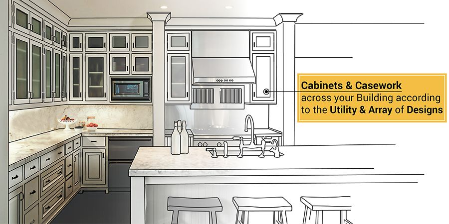 How Cabinet Makers Can Overcome The Demand For Unique Cabinets Casework Design Unique Cabinets Kitchen Cabinet Layout Kitchen Cabinet Design