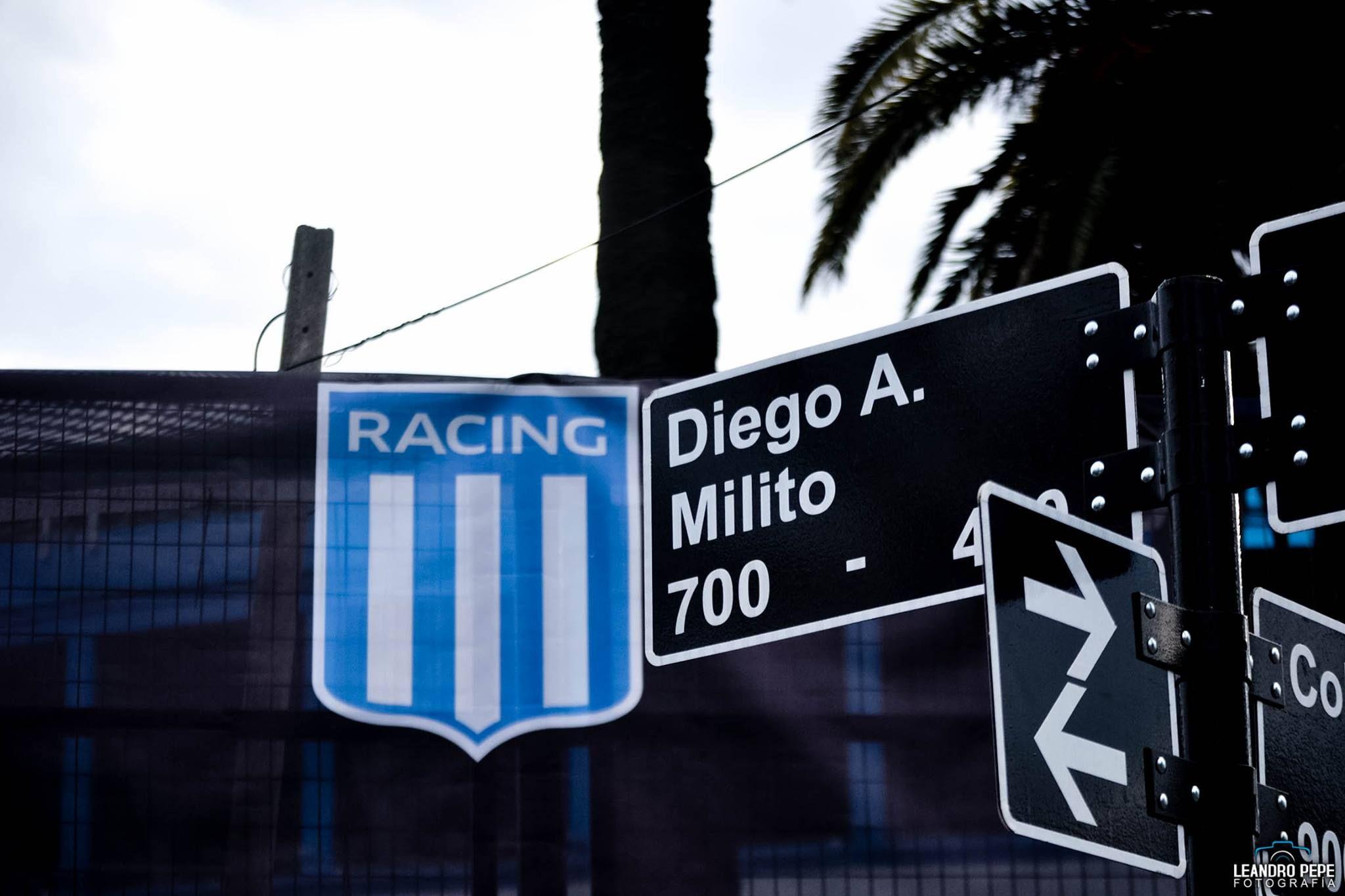 Calle Diego Milito