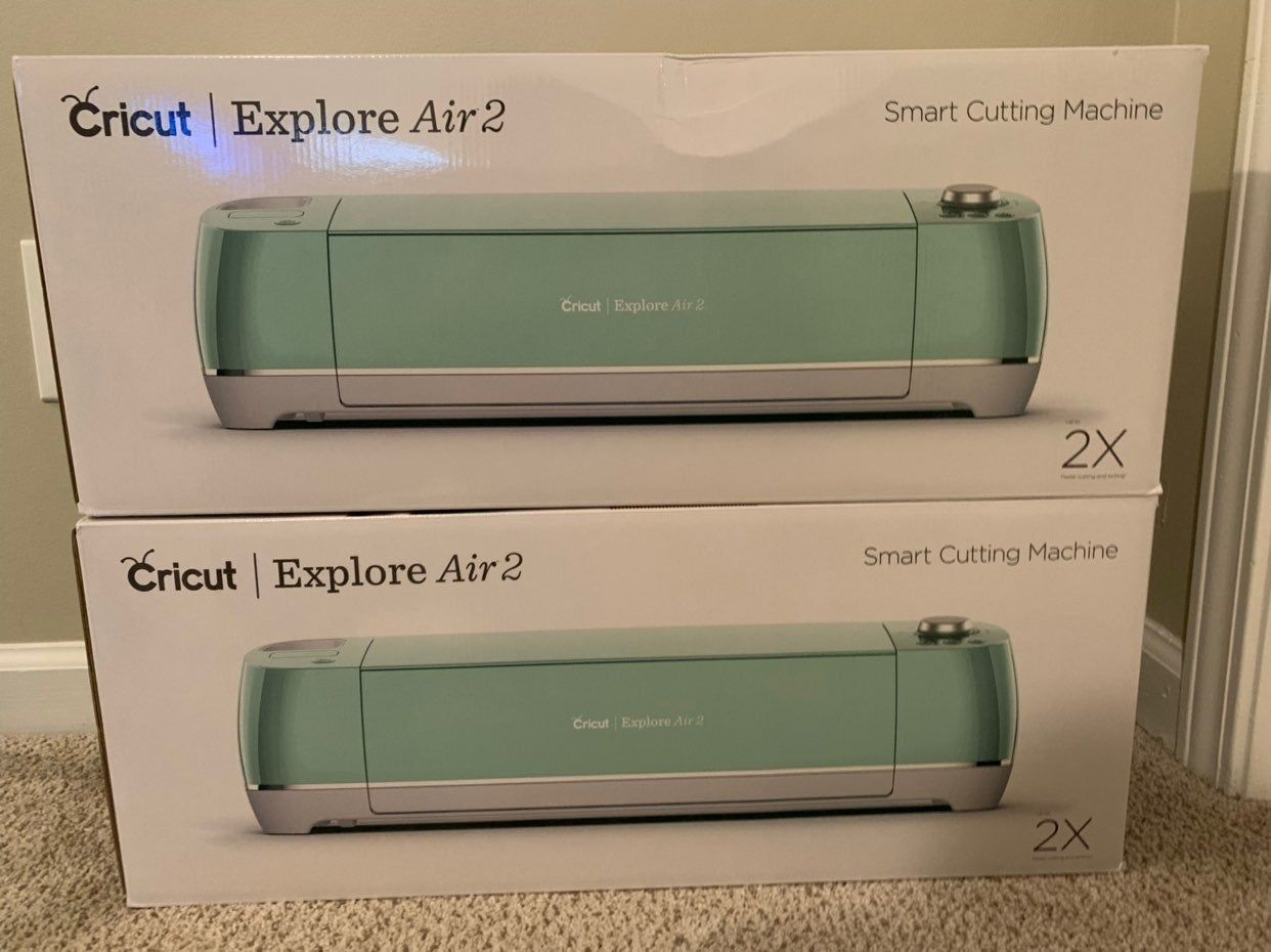 Brand New In Box Cricut Explore Air 2 My Loss Is Your Gain Price Is For One Machine Pictured Cricut Explore Air 2 Cricut Explore Cricut Explore Air