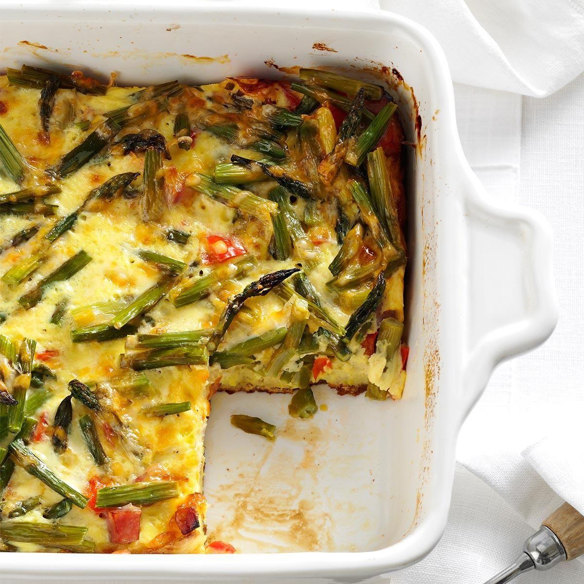 overnight asparagus strata strata recipesbrunch - Strata Recipes For Brunch
