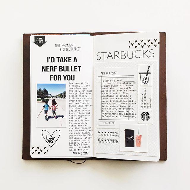 Days 3 4 Melissagetscrafty Travelersnotebook Journal Write