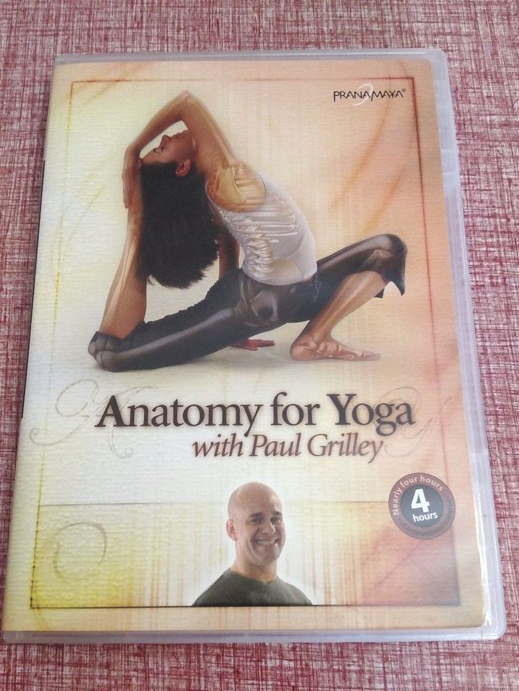 Anatomy for Yoga DVD by Paul Grilley 4 Hours of Instructional ...