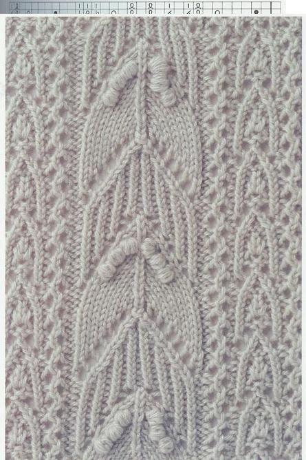 Lace Knitting Stitch #60   Lace Knitting Stitches