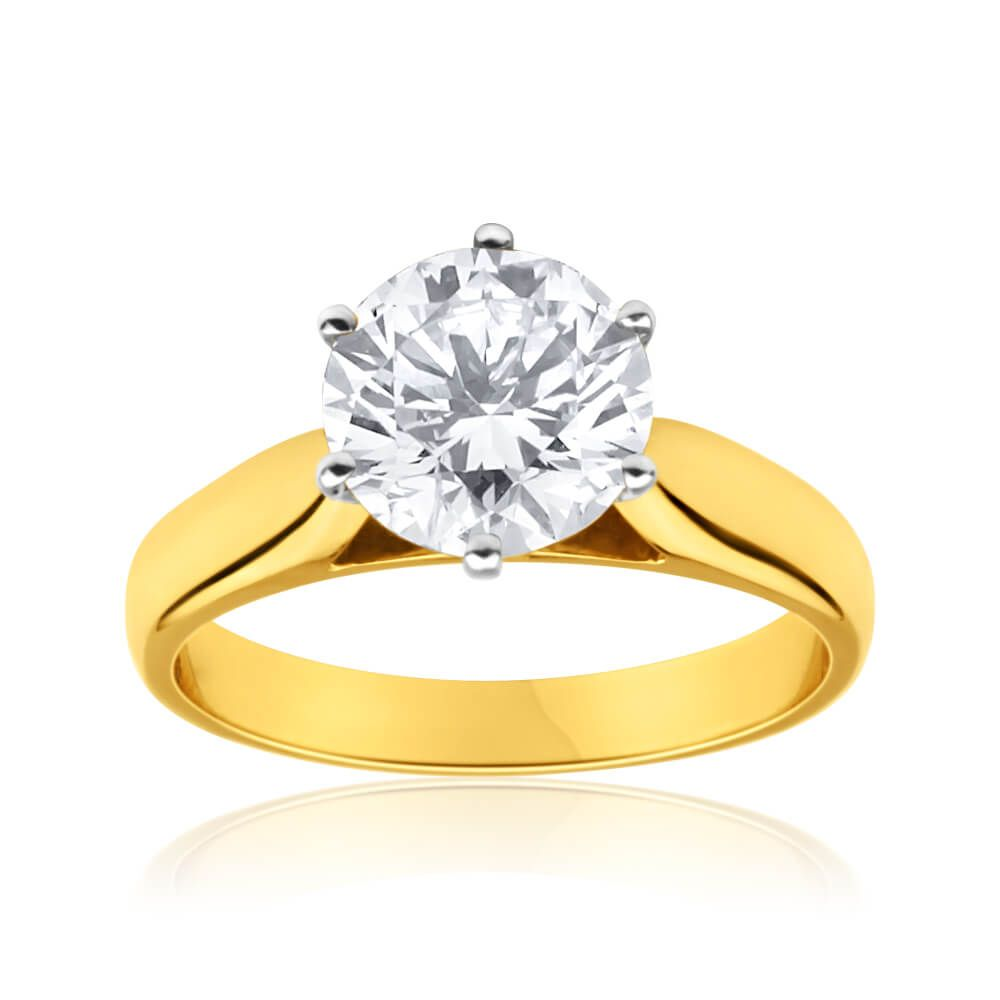 rings jewellery ring nicha rose diamond white products jewelry gold