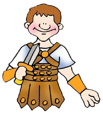 Image result for roman soldier clipart