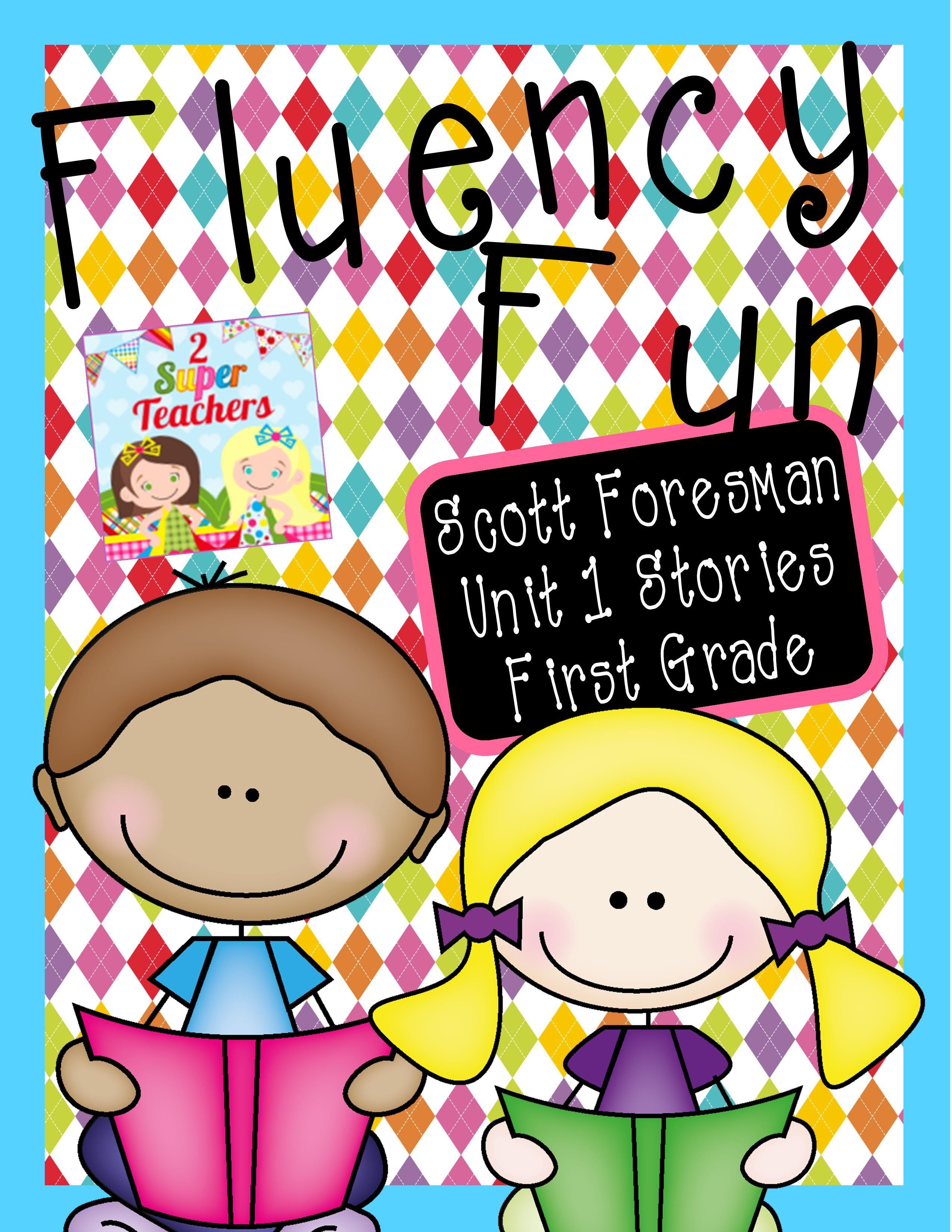 Fluency Fun Scott Foresman Unit 1 First Grade Scott Foresman First Grade Reading Classroom [ 3300 x 2550 Pixel ]