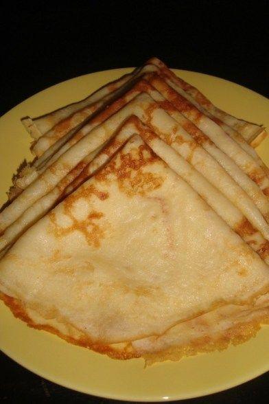 Crêpes au petit-lait et au miel (sans oeuf)   Crêpes sans ...