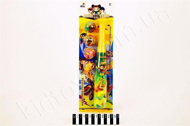 """Бейсбольний набір з фомовими м""""яч. МВ-31005, winx куклы купить, магазин интерактивных игрушек, игрушки для младенцев, лучшие развивающие игрушки, детские украина, шитье игрушек"""