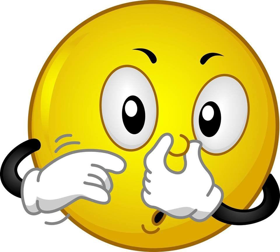 Resultado de imagen de emoticono tapandose la nariz