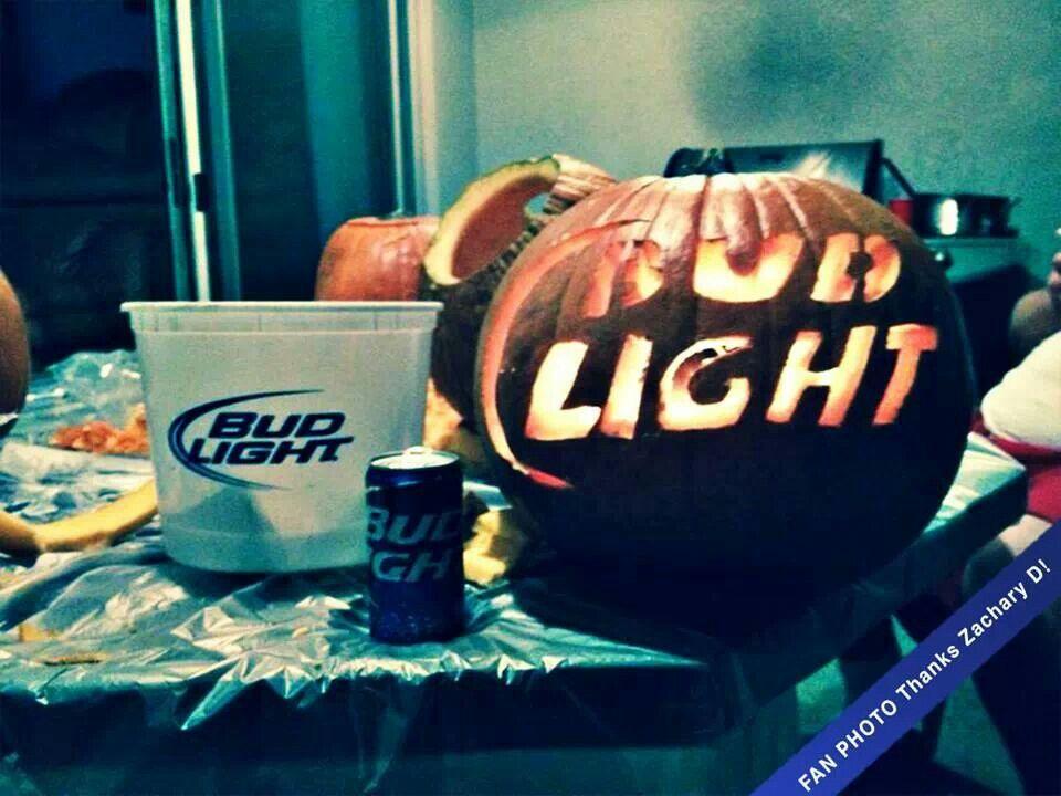 bud light pumpkin cool