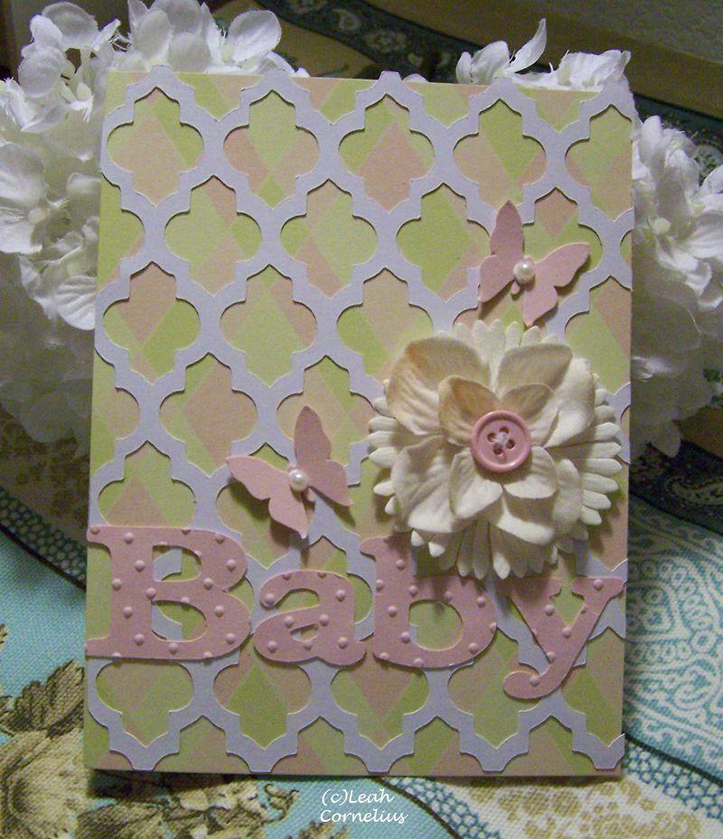 Cricut Paper Lace cartridge for background