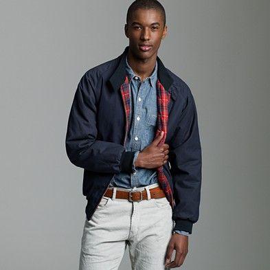 40759b37f74 waxed cotton Baracuta Harrington jacket similar to orvis jacket ...