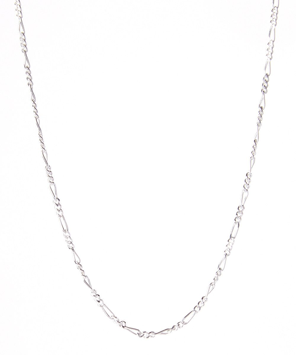 Sterling Silver Figaro Necklace