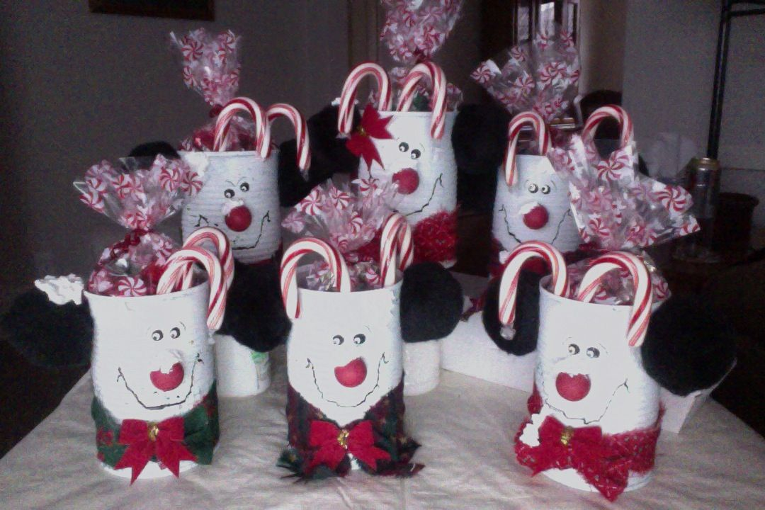 Door Prize Ideas For Christmas Party Part - 24: I Made These For Door Prizes At Our Office Christmas Party This Year.