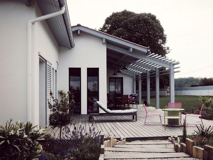 agence d 39 architecture romain th venot construction d 39 une villa ahetze ostalapea pays basque. Black Bedroom Furniture Sets. Home Design Ideas
